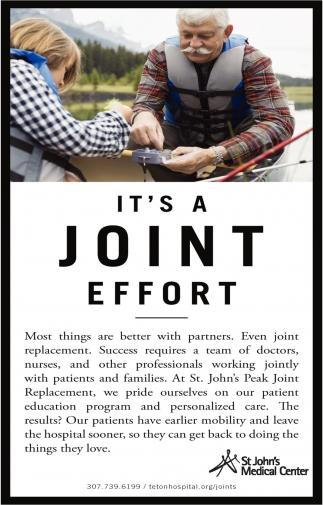 It's Joint Effort
