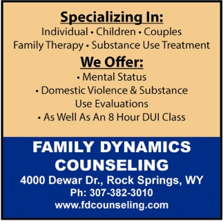 Family Dynamics Counseling