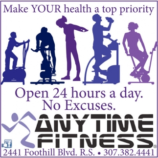 JOpen 24 hours a day. No Excuses