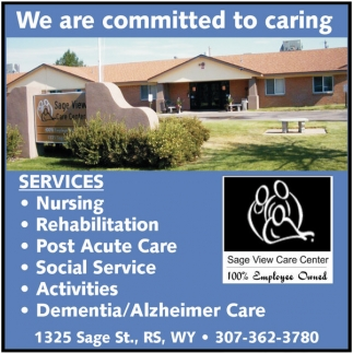 We are committed to caring!