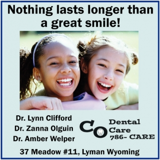 Nothing lasts longer than a great smile!