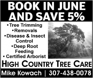 Book in june and save 5%