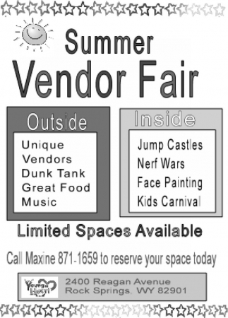 Summer Vendor Fair