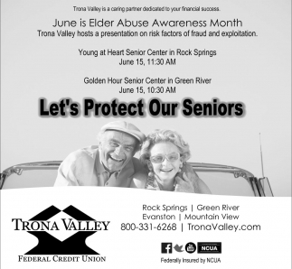 Let's Protect Our Seniors