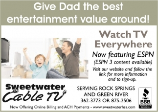 Give Dad the best entertainment value around!