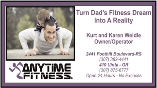 Turn Dad's Fitness Dream into A Reality!