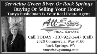 Servicing Green River or Rock Springs