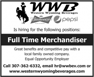 Full Time Merchandiser