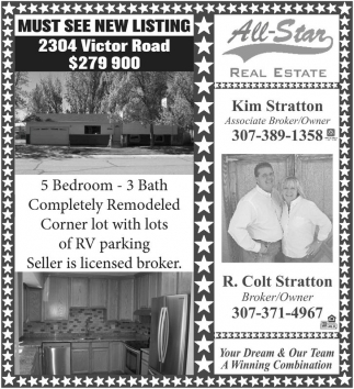 Must See New Listing