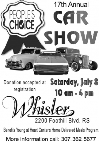 17th Annual People's Choice Car Show