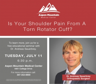 Is your shoulder pain from a torn rotator cuff?