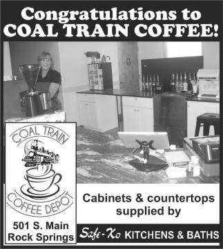 Congratulations to Coal Train Coffee!