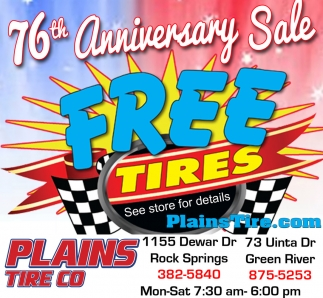 76th Anniversary Sale