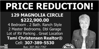 Price Reduction!