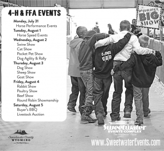 4-H & FFA Events