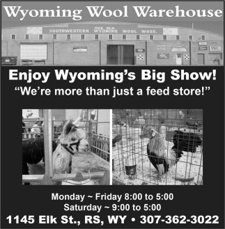 Enjoy Wyoming's Big Show!