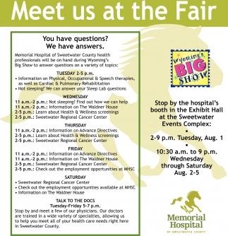 Meet Us At The Fair