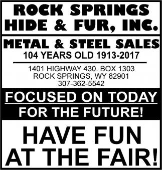 Metal Sales Since 1913