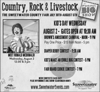 Country, Rock and Livestock