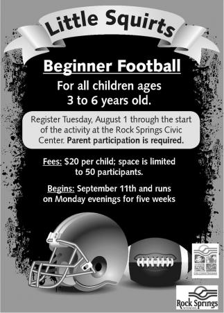 Beginner football