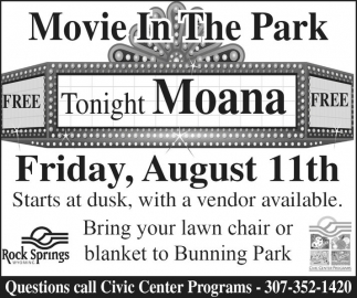 Movie in the Park: Moana