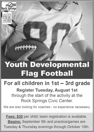 Youth Developmental Flag Football