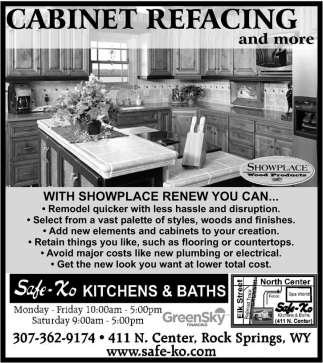 Cabinetry for any room in your home!