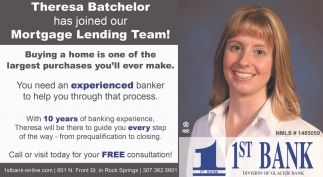 Theresa Batchelor Has Joined Our Mortgage Lending Team!