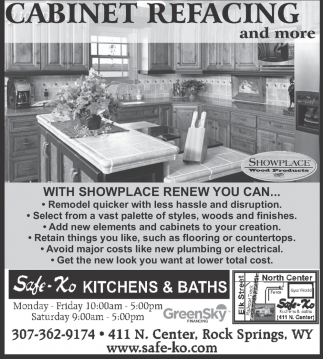 Cabinet Refacing and more