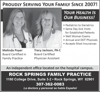 Proudly Serving Your Family Since 2007!