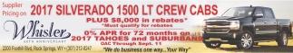 2017 Silverado 1500 LT Crew Cabs