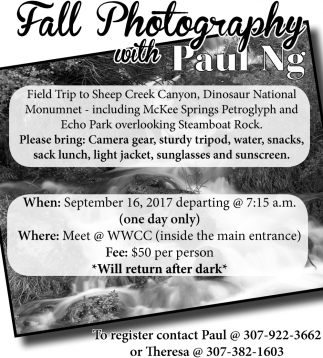 Fall Photography with Paul Ng