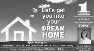 Let's Get You Into Your Dream Home