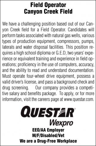 Field Operator