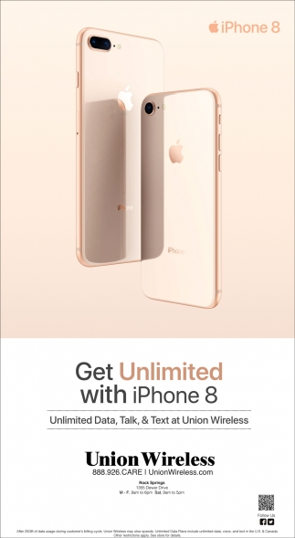 Get Unlimited With IPhone 8
