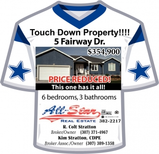 Touch Down Property!!!