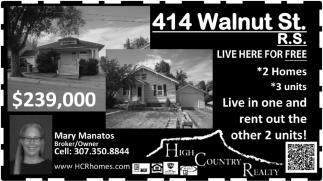414 Walnut St.