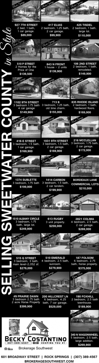 Selling Sweetwater County in Style