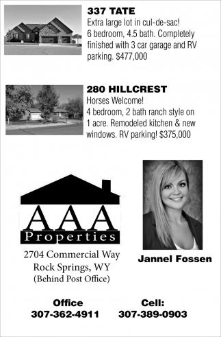 AAA Properties