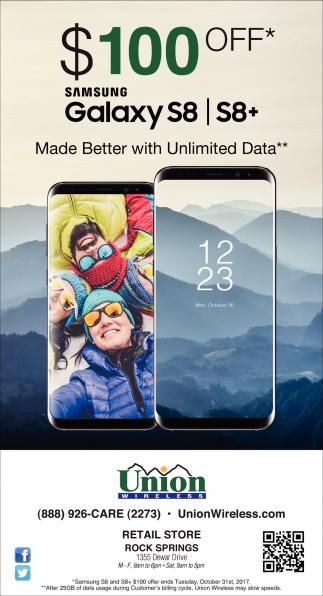 Samsung Galaxy S8/ S8+
