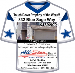 Touch Down Property Of The Week!!
