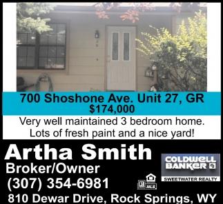 700 Shoshone Ave. Unit 27 GR