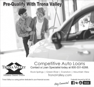Pre- Qualify With Trona Valley