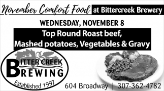 November Comfort Food