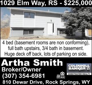 1029 Elm Way, RS - $225,00
