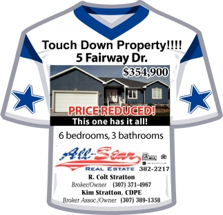 Touch Down Property !!
