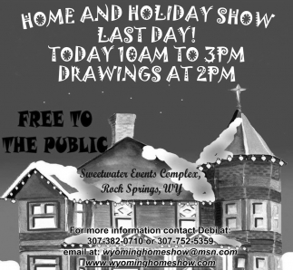 Home And Holiday Show Last Day!