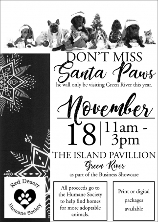 Don't Miss Santa Paws