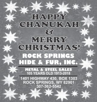 Happy Chanukah & Merry Christmas
