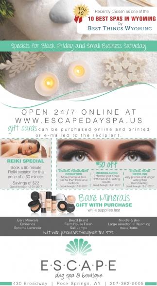Escape beauty boutique